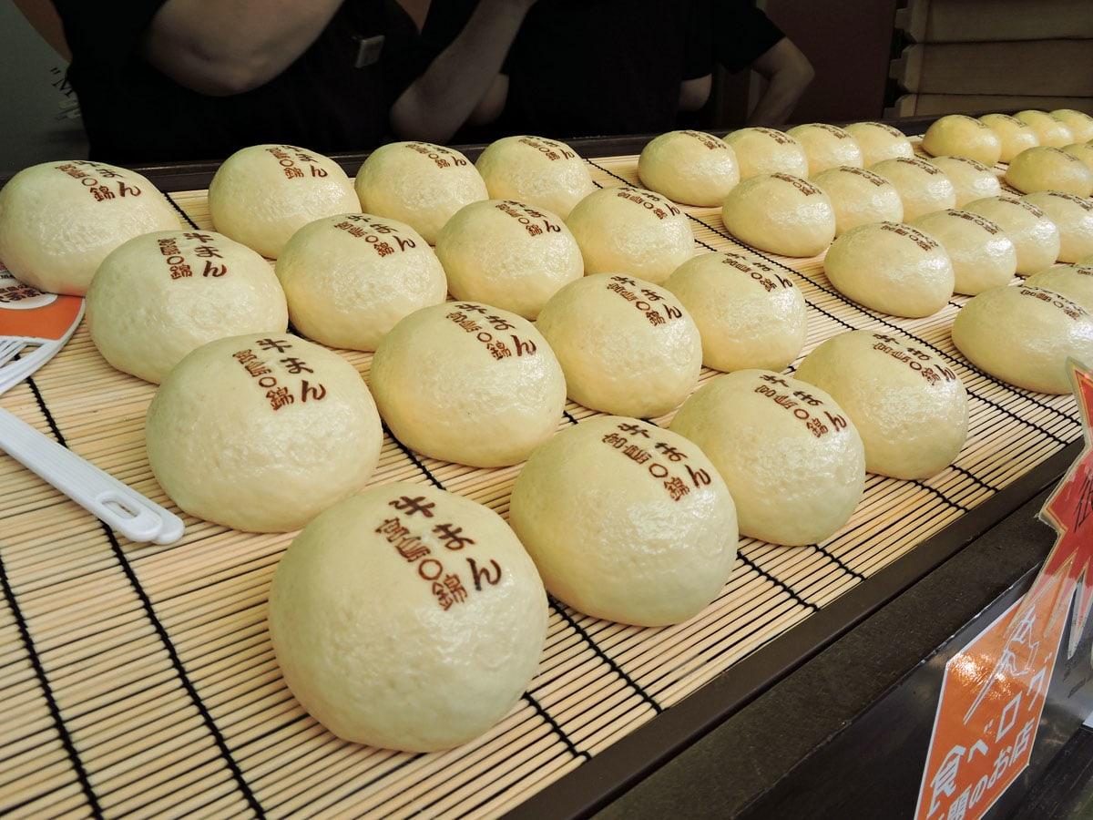Nikuman a Miyajima