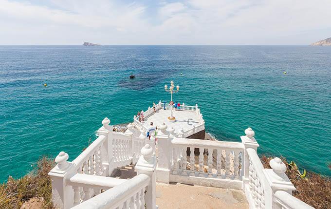 mirador del mediterraneo en benidorm alicante