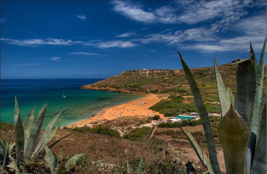 Ramla Bay a Gozo