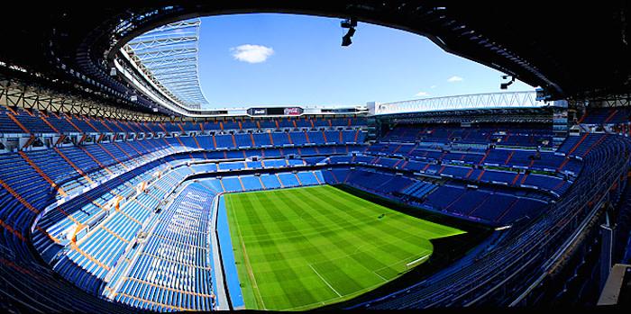 Estadio Santiago Bernabéu. Foto: Luis Sandoval/ Flickr CreativeCommons.