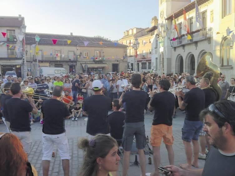 festival musica en la calle femuka en el espinar en segovia