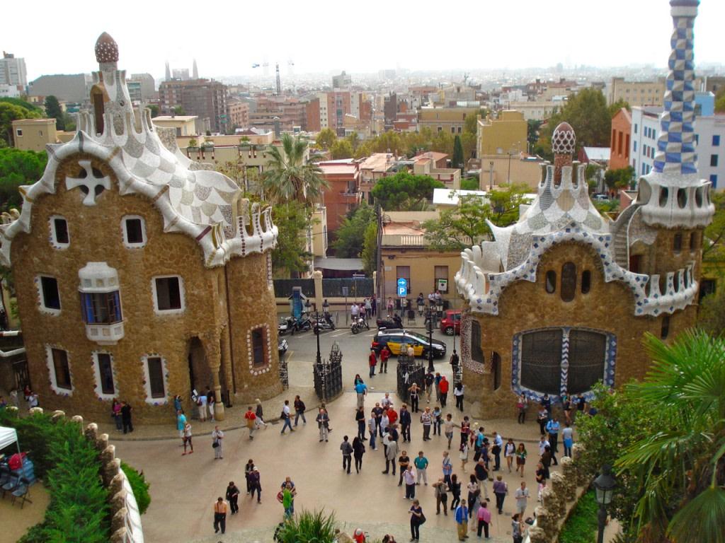 Parc Guell Barcellona e Gaudì by BlogdiViaggi