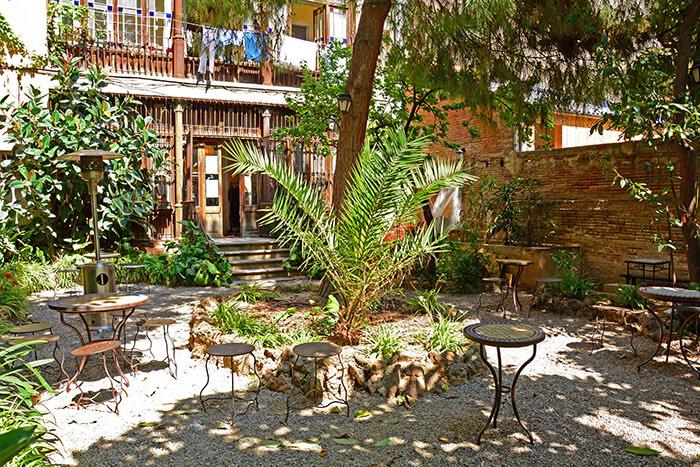 Jardin Olokuti en barcelona