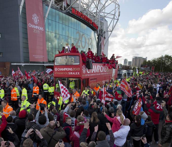 Manchester United en los alrededores de Old Trafford que ver
