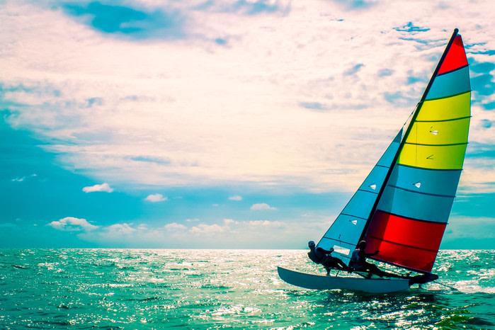 Qué hacer en Punta Cana: barco de vela