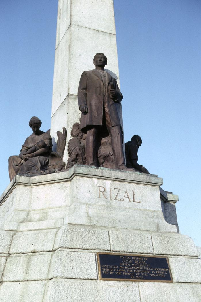 Qué ver en Manila monumento a José Rizal