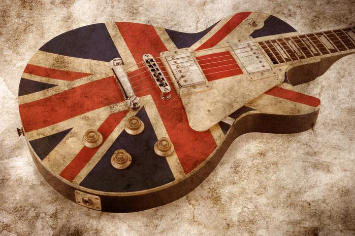londres: Guitarra rock