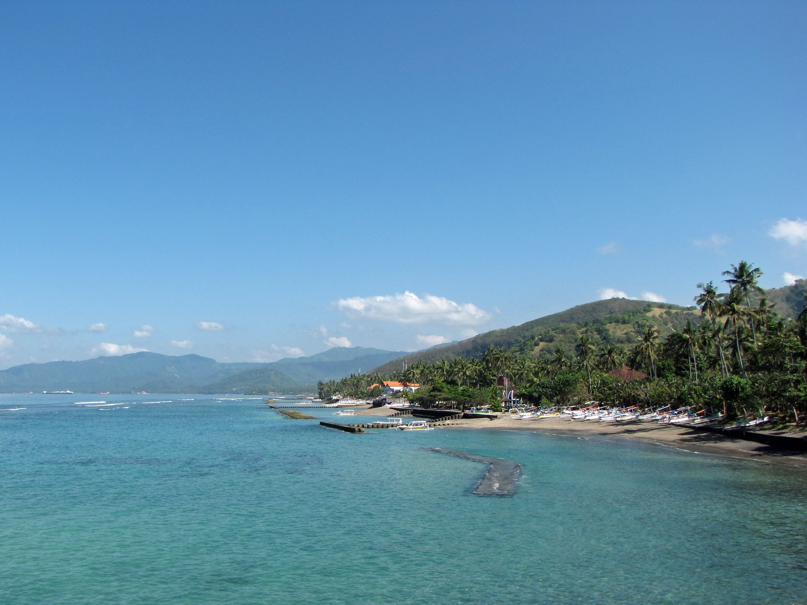 La costa orientale di Bali