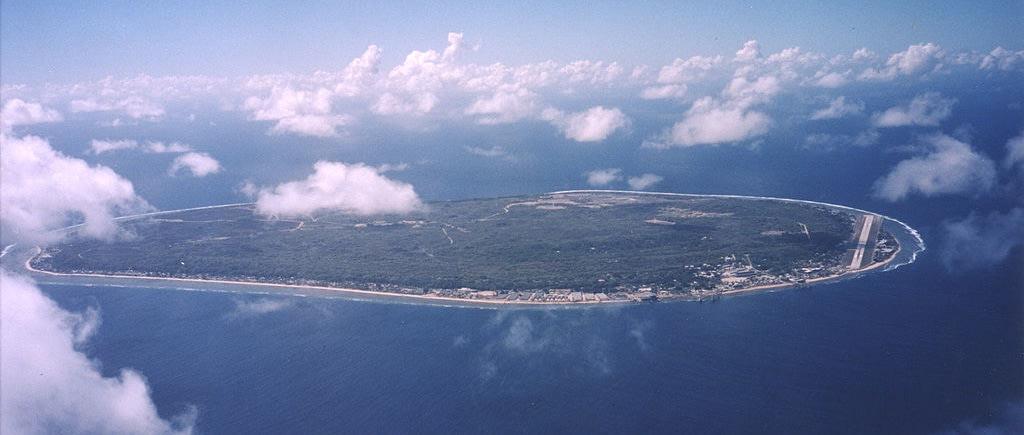 Nauru - 3rd smallest country