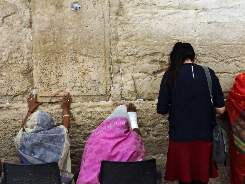 Fedeli al muro del pianto, Gerusalemme