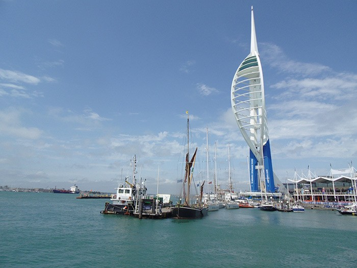 View of the Spinnaker Tower (c) Portsmouth City Council