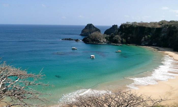 playas de brasil en baia do sancho
