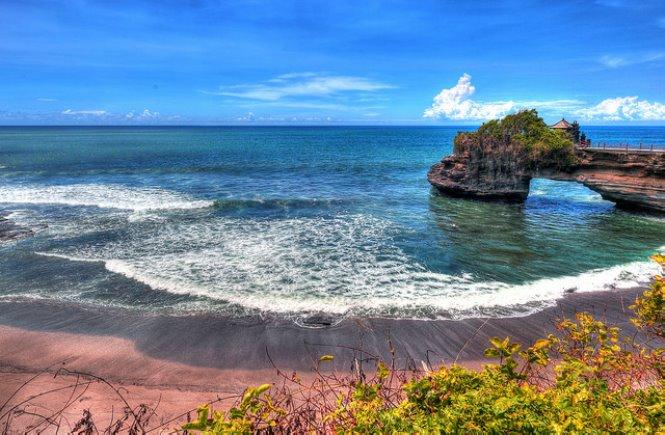 Playa en Bali indonesia