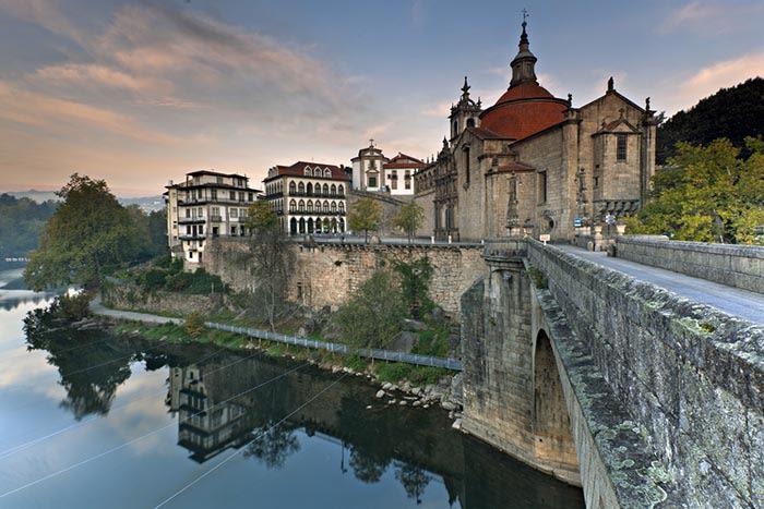 rio duero en amarante portugal
