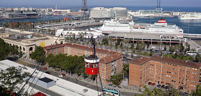Planes con niños en Barcelona: Teléferico de Montjuic