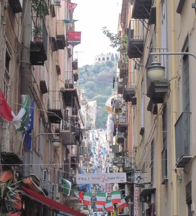 Quartieri Spagnoli napoles italia