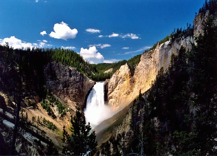 parque nacional de yellowstone en Wyoming estados unidos