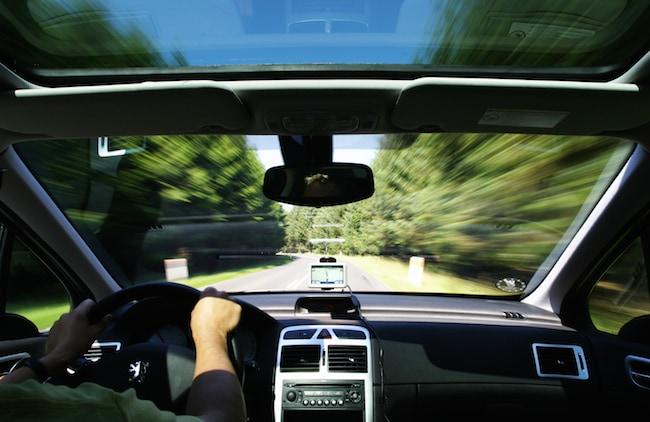 conducir con GPS