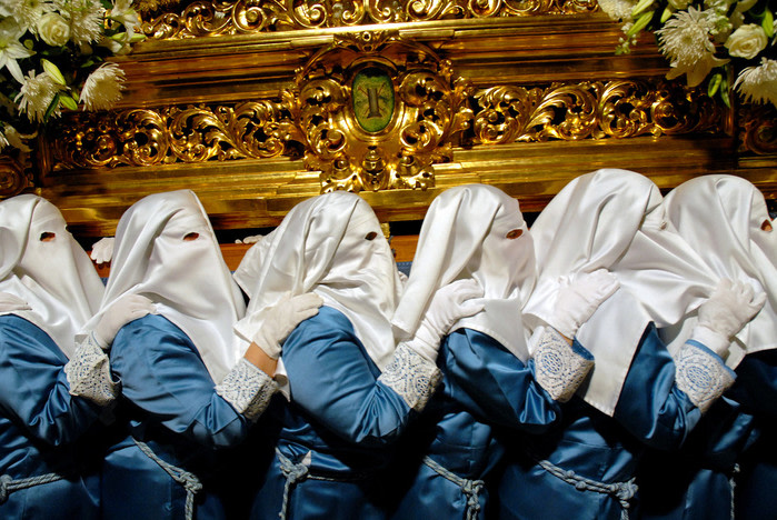 Semana santa procesión