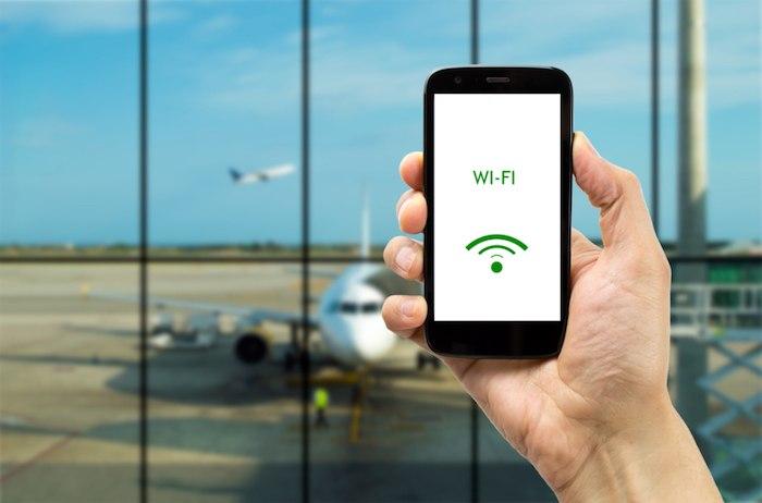 conexion wifi en aviones