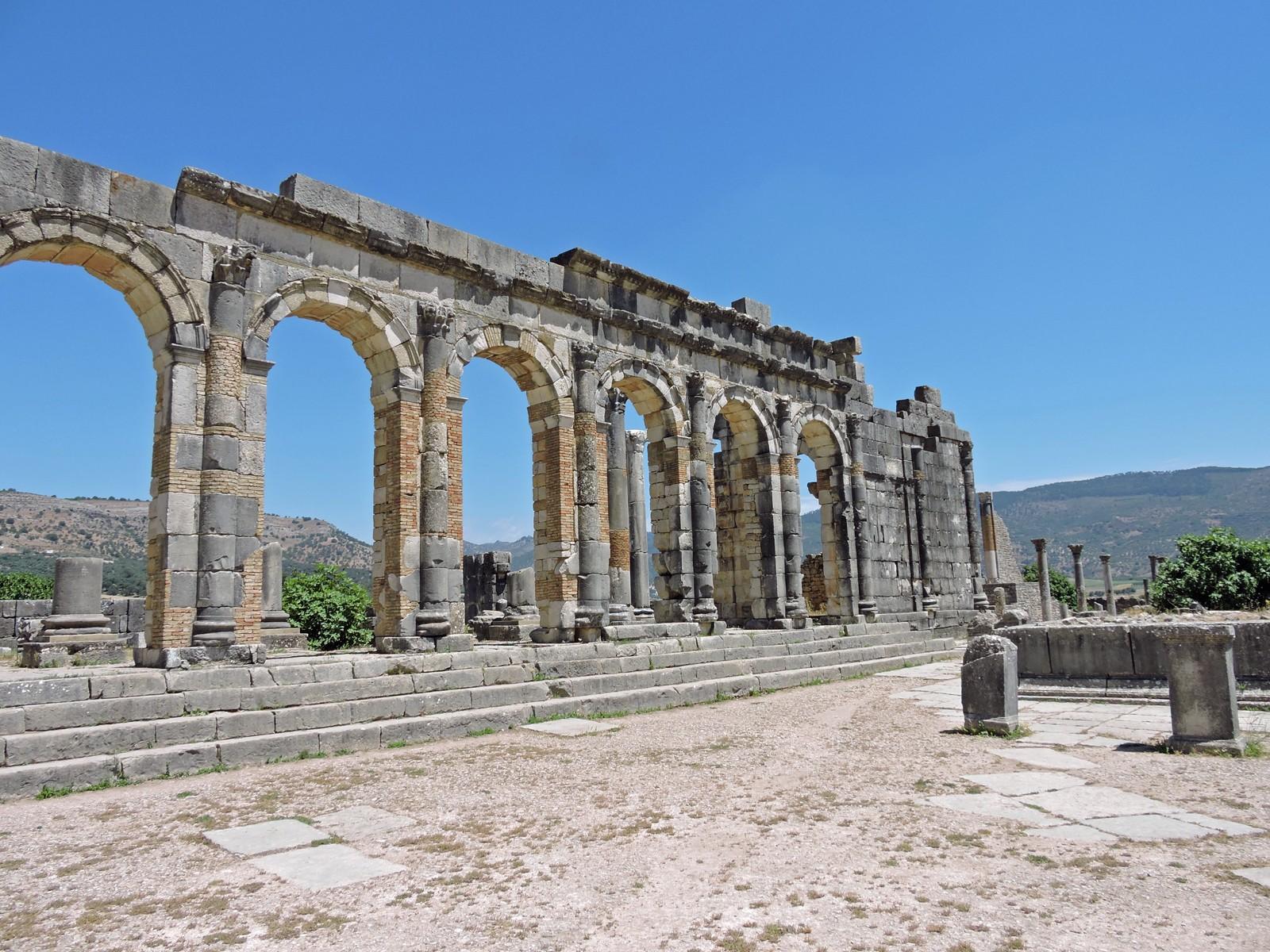 Il sito archeologico di Volubilis