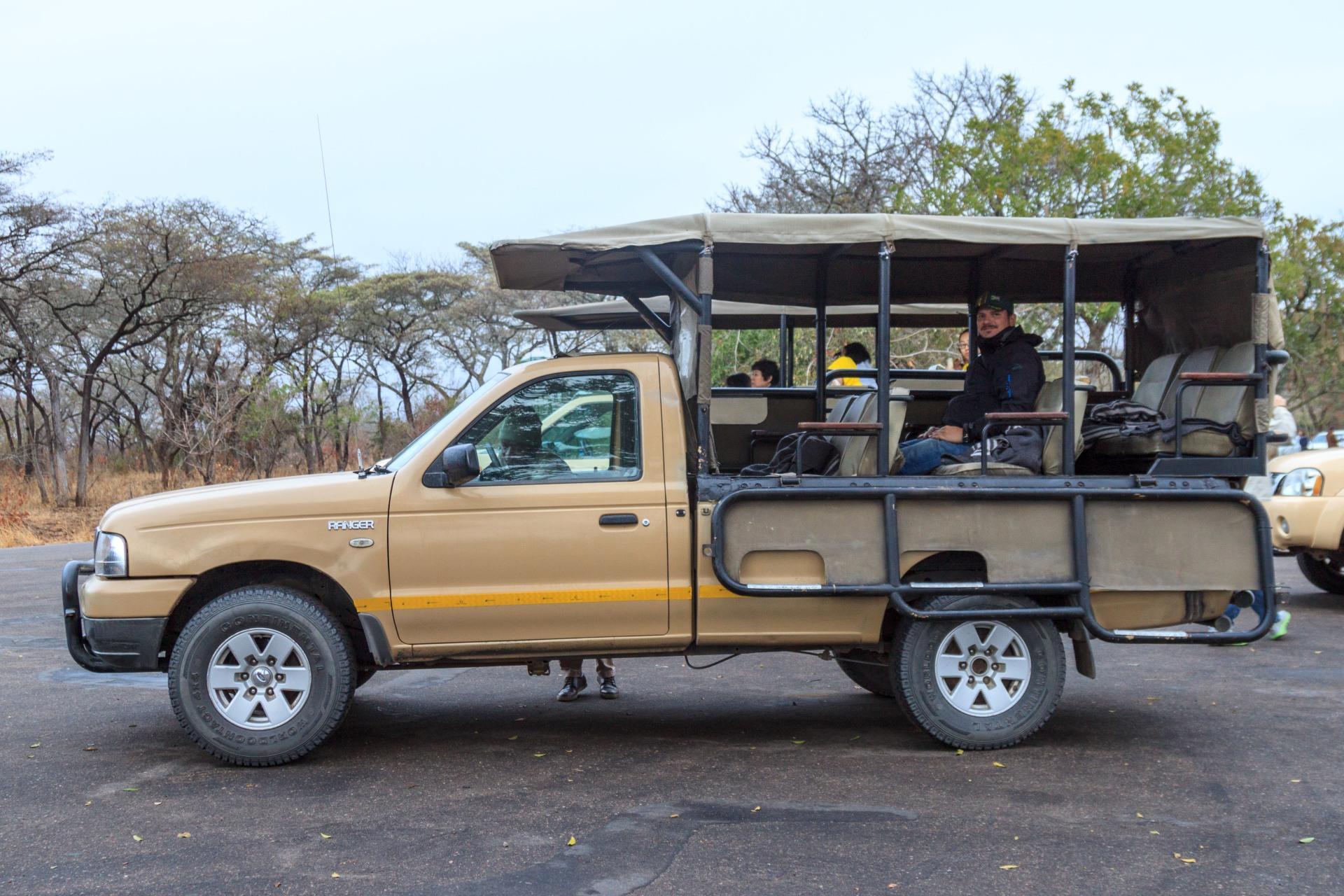 Safari con la jeep nel Kruger National Park