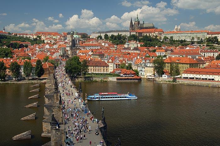 Qué hacer en Praga: Castillo y Charles Bridge