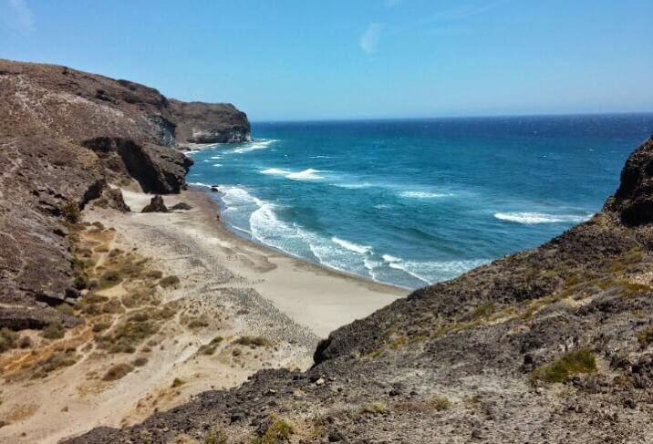 playas de levante: cala chica en almeria