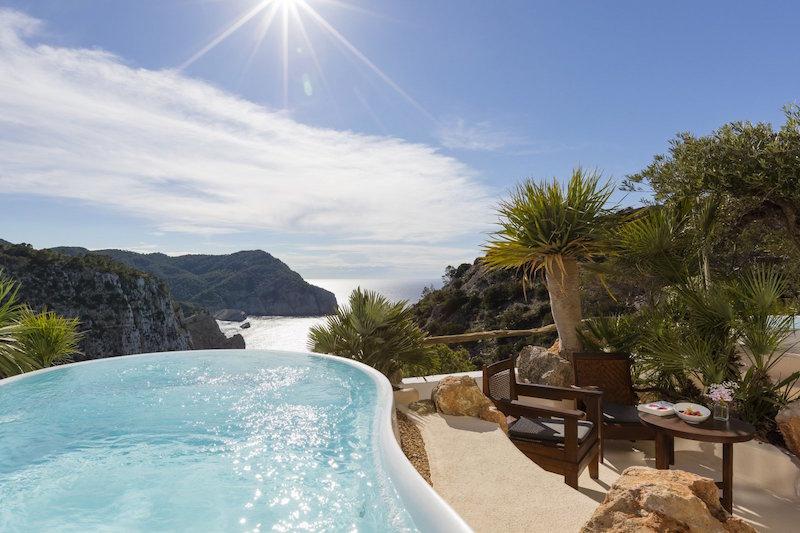 Hoteles con vistas: Hacienda Na Xamena, Ibiza.