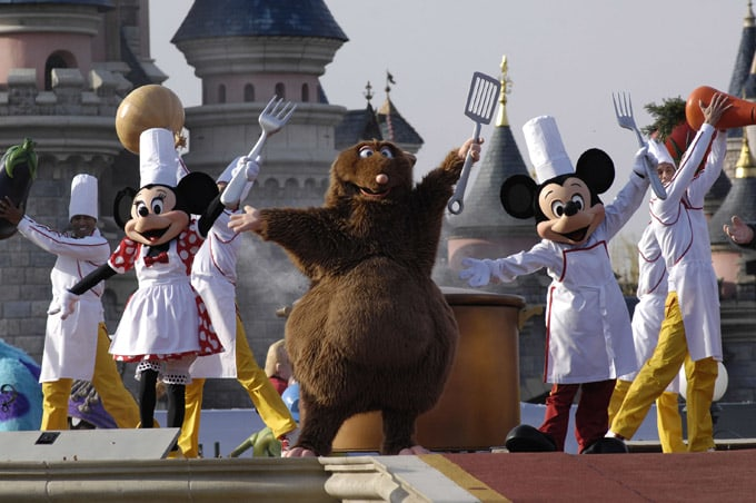 Marne-La-Vallee - FRANCE Year of the New Generation opening day at Disneyland Resort Paris. © Abaca