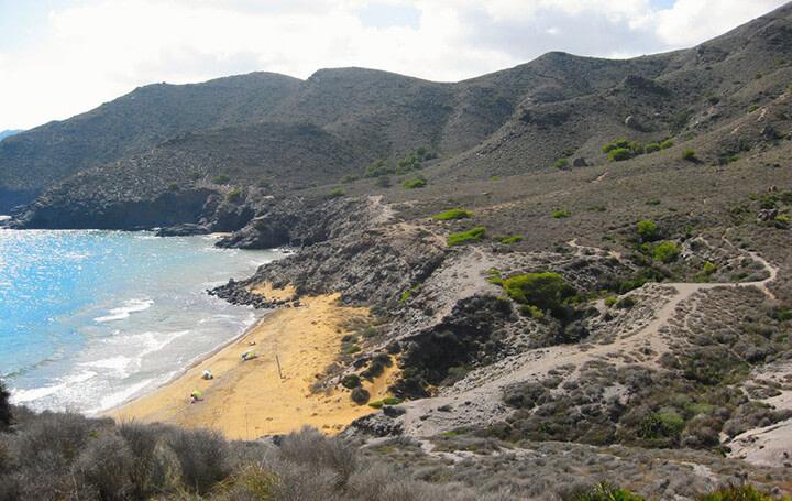 playas de levante: calblanque en murcia