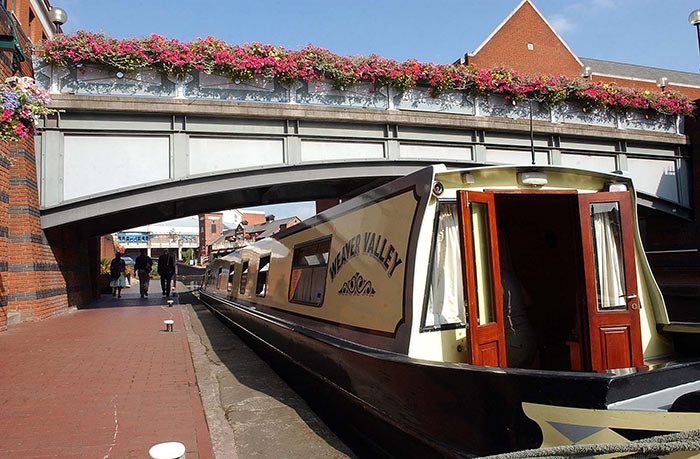 Canal boat - Birmingham canals