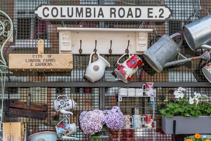 Mercadillo de Londres: Columbia Road Flower Market