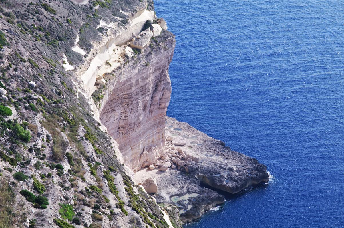 il blu di Malta - Dingli Cliffs