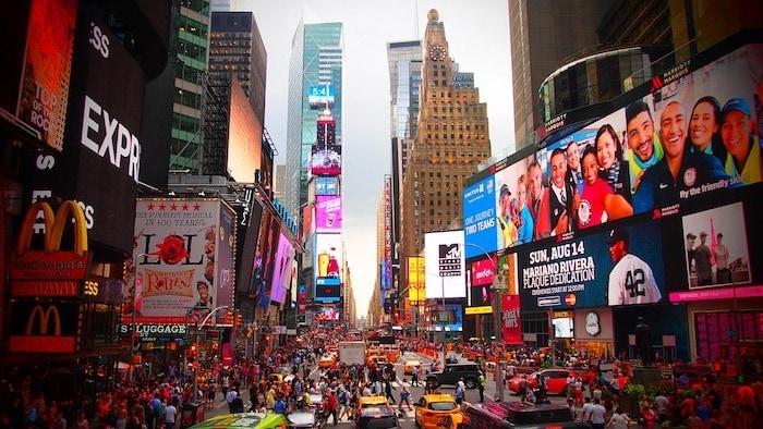 Qué hacer en Nueva York: Times Square