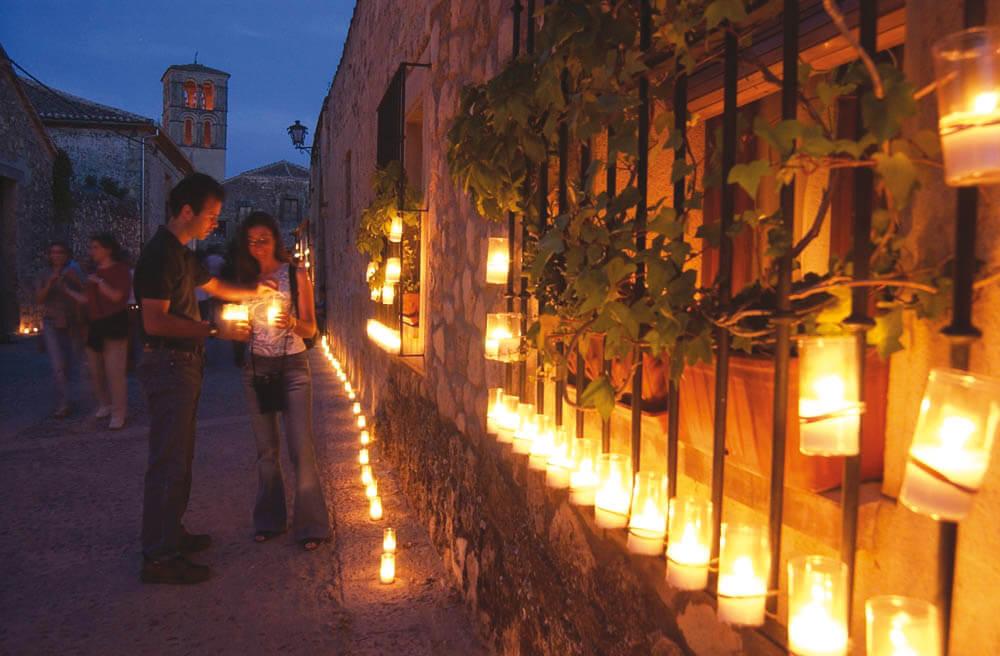 concierto de las velas en pedraza segovia