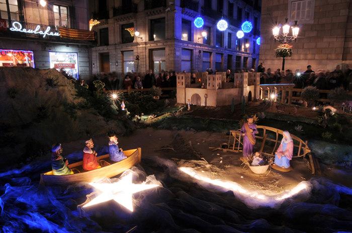 Barcelona: Belenes de Navidad