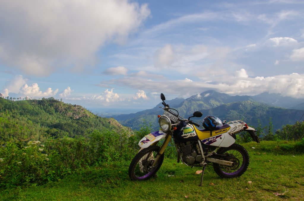 In moto in Sri Lanka - foto @GabrieleSaluci
