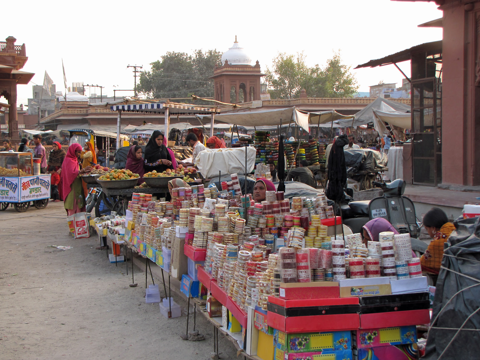 Venditori al Sardar Market, Jodhpur