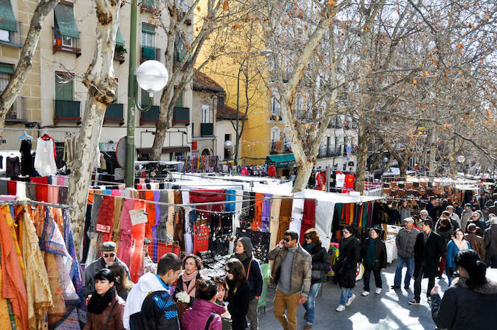 What to do in Madrid: rastro de madrid