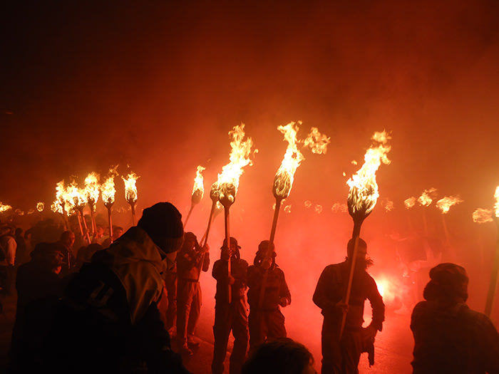 Up Helly Aa. Image by Vicky Brock via Flickr Creative Commons (2)
