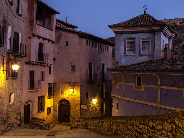 Albarracín nocturna Foto: Francis Raher Flickr.com, Creative Commons