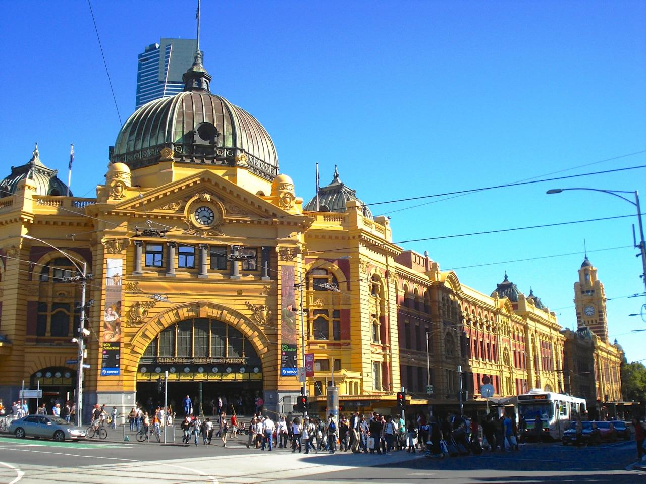 Melbourne, inizia il tour