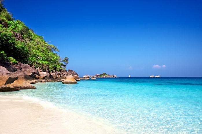 Playa de phuket, Tailandia