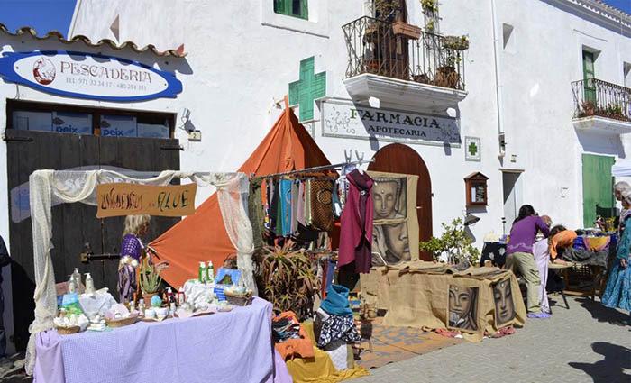 Mercadillo de Sant Joan de Labritja en ibiza