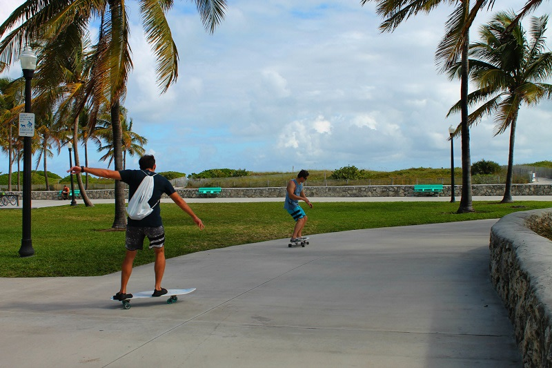 Gli skaters di Miami