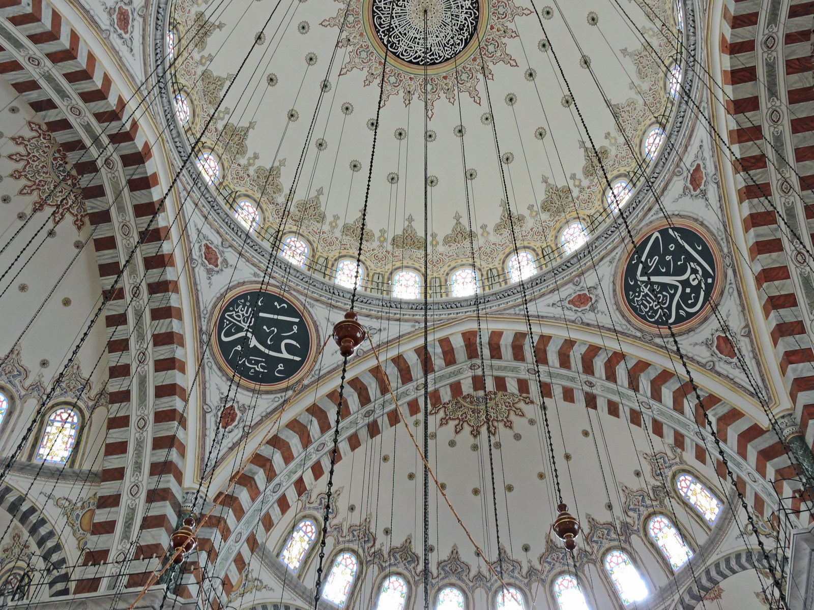 Moschea di Fatih, interno. Istanbul