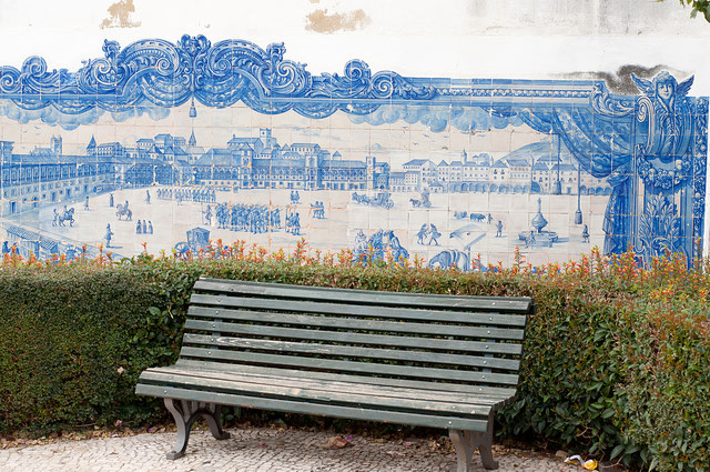 Miradouro de Santa Luzia, Lisbona, foto di kebnekaise su Flickr