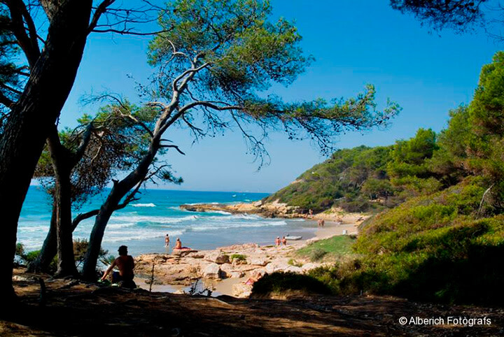 Playa de levante: playas de tarragona