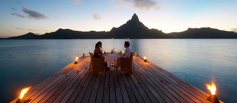 Hoteles con vistas :Hotel Intercontinental Bora Bora Resort & Thalasso Spa.